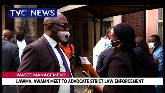 LAWMA, AWAMN Meet To Advocate Strict Law Enforcement For Waste Management